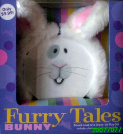 Rabbit Furry Tales - Board Book And Dress Up Play Set For Kids