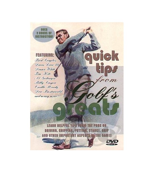 Quick tips From Golf's Greats