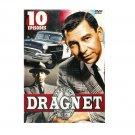 Dragnet - 10 Episodes - Jack Webb, Barney Phillips, Herb Ellis, Ben Alexander