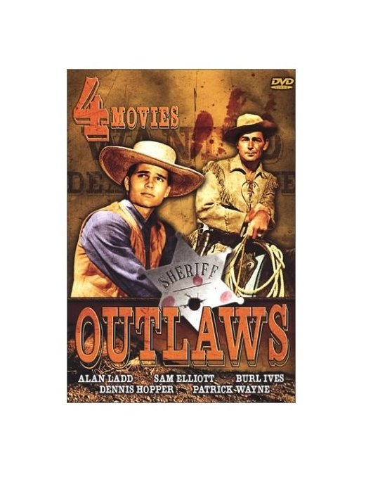 Outlaws: 4-Movie Set: Day Of The Outlaw / The Proud Rebel / Molly & Lawless John / Young Land