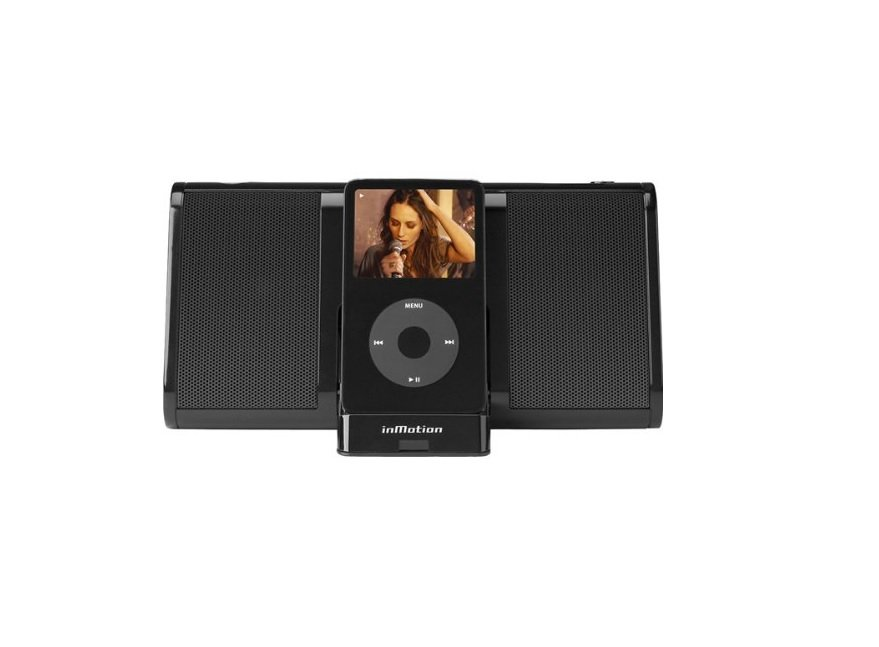 Altec Lansing InMotion Portable Audio System for iPod - Black (iM11BLK)