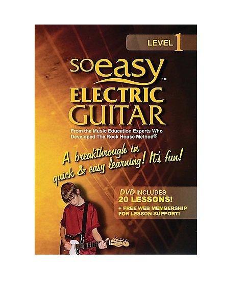 So Easy Level 1: Electric Guitar (Region 1 DVD)