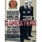 Gangsters-10 Movies-5 DVD Steve Cochran, Walter Matthau