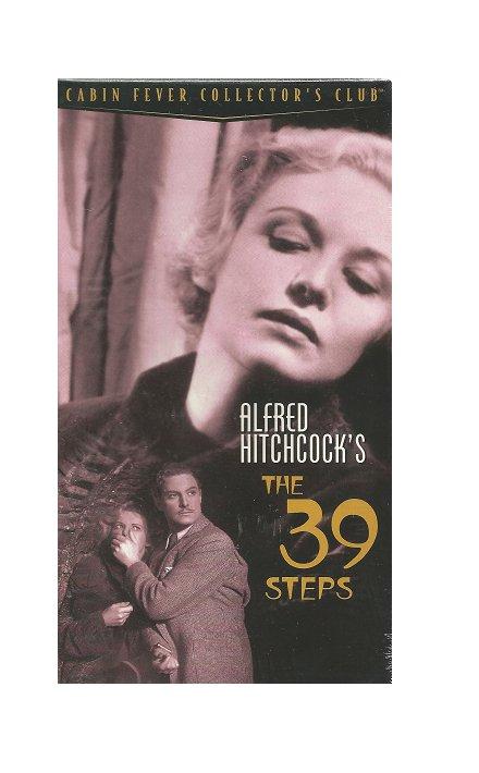The 39 Steps VHS Robert Donat, Madeleine Carroll