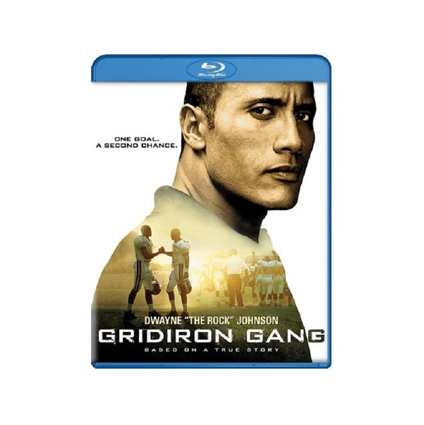 Gridiron Gang (Blu-ray, 2006) New Drama,Dwayne Johnson,Football