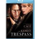 TRESPASS - NICOLAS CAGE/NICOLE KIDMAN - BLU-RAY DISC