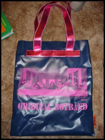 """LOOP NYC Parcel """"Original Boyband"""" Tote (discontinued design)"""