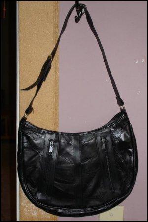 Leather Patchwork Purse
