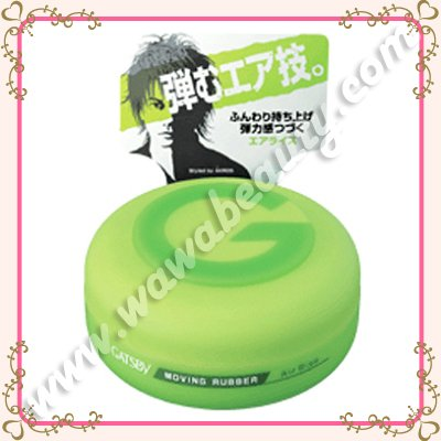 Gatsby Moving Rubber Series Air Rise, 80g