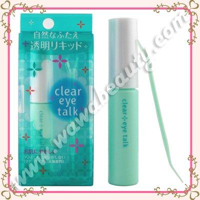 Koji Clear Eye Talk Double Eyelid Glue, Fragrance Free, 7ml