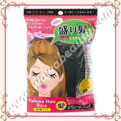 Noble Cosme Volume Hair Base, Velcro Hair Volumizing Tool
