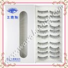 Three Tree Handmade False Eyelashes, #310, 10 Pairs
