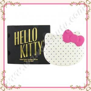 Sanrio Hello Kitty Hello Pretty Compact Mirror, White, Limited Edition