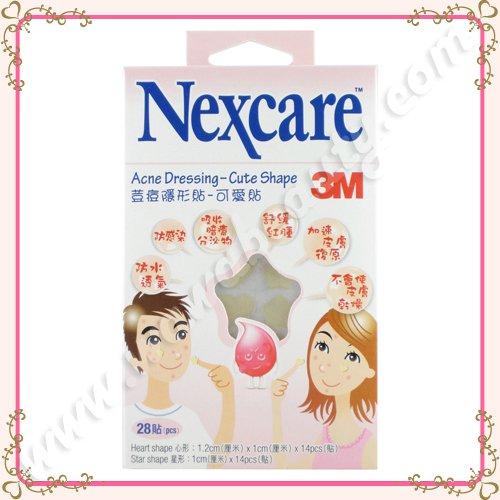 3M Nexcare Acne Dressing Patch Pimple Stickers, Cute Shape, 28 Pieces