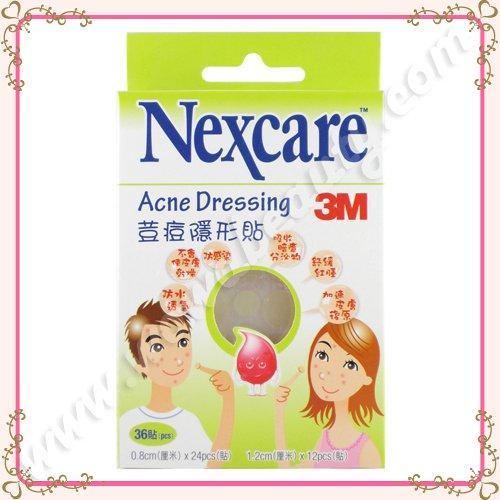 3M Nexcare Acne Dressing Patch Pimple Stickers, 36 Pieces