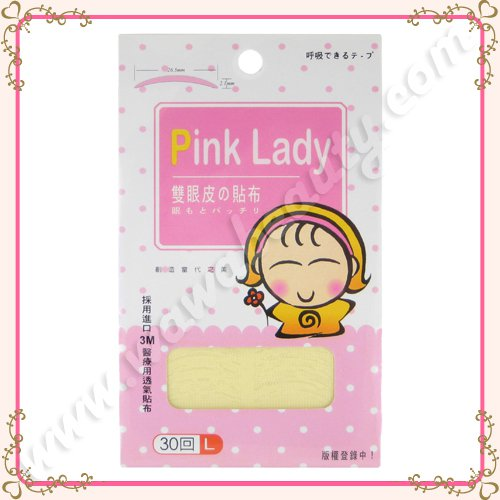 Pink Lady Double Eyelid Tapes, Large, 60 Pieces