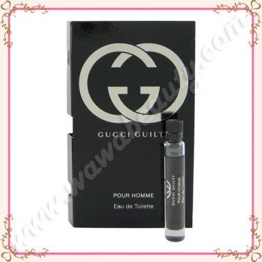 Gucci Guilty Pour Homme Eau de Toilette EDT, 0.06oz / 2ml