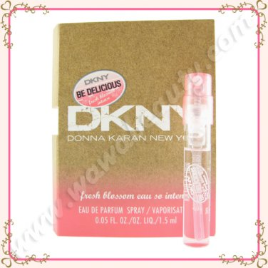 DKNY Be Delicious Fresh Blossom Eau So Intense Eau de Parfum EDP Spray, 0.05oz / 1.5ml