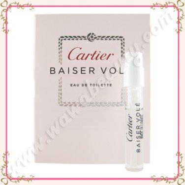 Cartier Baiser Vole Eau de Toilette EDT Spray, 0.05oz / 1.5ml