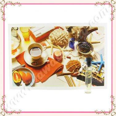 Atelier Cologne Orange Sanguine Cologne Absolue Eau de Parfum EDP w/ Promo Postcard, 0.05oz / 1.5ml