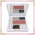 Clinique All About Shadow Duo in 11 Nightcap and Soft-Pressed Powder Blusher in 06 Fig