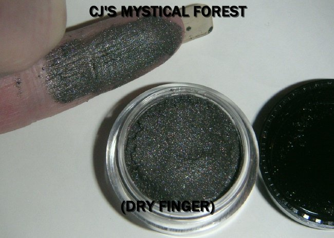 "CJ's Shimmer Loose Mineral Pigment Eyeshadow ""MYSTICAL FOREST"" Full 5 Gram Container A best seller!"