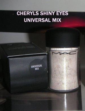 """MAC PIGMENT RARE  """" UNIVERSAL MIX """"  BNIB  FULL JAR"""