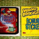 WACKY PACKAGES ANS8 BONUS CARD ** CREAM of TWEET **  B1
