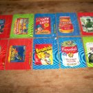 "WACKY PACKAGES 2011 ANS8 ""MOTION TAG"" SET 10/10 NICE!!"