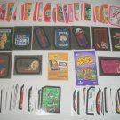 WACKY PACKAGES ANS7 MINI MASTER SET CARDS PINK FOIL,ECT