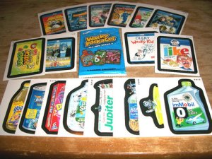 WACKY PACKAGES ANS8 BOTH GO TO MOVIES & PT FUTURE SETS!