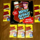 WACKY PACKAGES OLD SCHOOL SERIES3 SEALED PACK  BRAND NEW!!