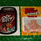 2012 WACKY PACKAGES SERIES8 BIO CARD **DR.PUFFER** SMOKIN'JOE