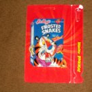 WACKY PACKAGES ANS8*FROSTED SNAKES**#1 of 10 MOTION TAG