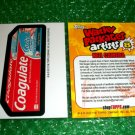 2012 WACKY PACKAGES SERIES8 BIO CARD **COAGULATE** NEIL CAMERA
