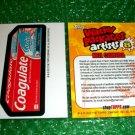 2012 WACKY PACKAGES SERIES8 BIO CARD **COAGULATE** NEIL CAMERA