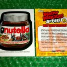 2012 WACKY PACKAGES SERIES8 BIO CARD **GNUTELLA** MATTHEW KIRSCHT