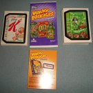 "WACKY PACKAGES ANS7""BASE SET(55) & WACKY AD SET(20) + MORE! TOTAL 76 CARDS WOW!!"