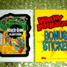 WACKY PACKAGES ANS3 ***MIRACLE-BONE***BONUS STICKER  B5