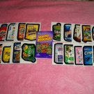 WACKY PACKAGES COMPLETE SET OF WACK O MERCIALS + MORE!!