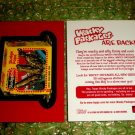2004 WACKY PACKAGES ANS1 PROMO **SLUDGSICLE** P2