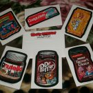 2012 WACKY PACKAGES SET OF SIX  POSTCARDS + ENVELOPE W/ LOGO  NEW SERIES!!