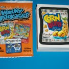 WACKY PACKAGES ANS9 COMPLETE 55/55 STICKER SET + WRAPPER!!