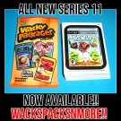 2013 WACKY PACKAGES ANS11 COMPLETE 55 CARD SET + WRAPPER!!