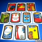 "2007 WACKY PACKAGES ANS6 COMPLETE SET OF ""MAKE YOUR OWN SET"" 10/10 NICE!!"