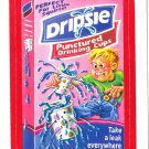 2013 WACKY PACKAGES ANS11 RED BORDER **DRIPSIE** STICKER #28