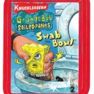 2013 WACKY PACKAGES ANS11 RED BORDER **GRUNGEBOB SOILED PANTS** STICKER #10