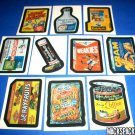 "2007 WACKY PACKAGES ANS6 COMPLETE SET OF ""WHATS IN THE BOX"" 10/10 NICE!!"