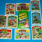 2012 WACKY PACKAGES OLD SCHOOL 4TH SERIES BASEBALL 9 CARD SET NEW SERIES!!  GPK