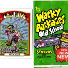 "2012 WACKY PACKAGES OLD SCHOOL SERIES 4 RARE! Variation ""RED"" Baseball Card"